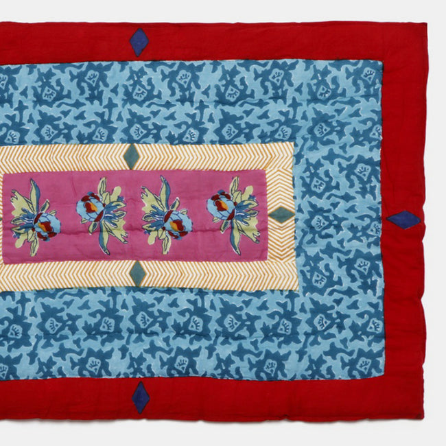 Arabesque Mauve Quilt, baby, Quilt, Lisa Corti, Collyer's Mansion - Collyer's Mansion
