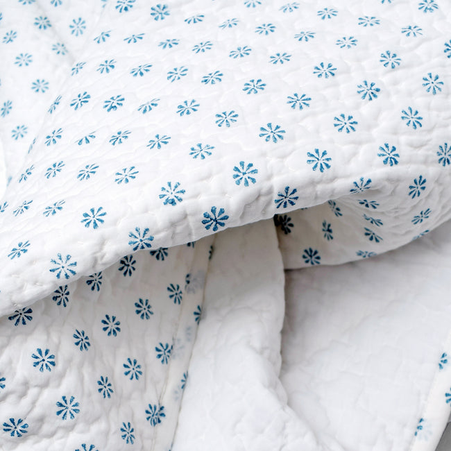 Ditsy Blue Quilt, baby