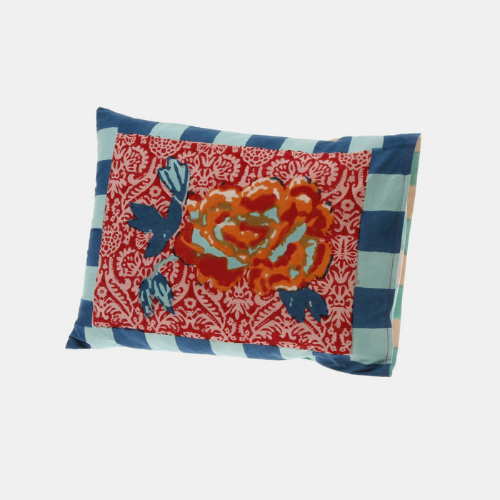 Maharani Coral Baby Pillow, Pillow, Lisa Corti, Collyer's Mansion - Collyer's Mansion