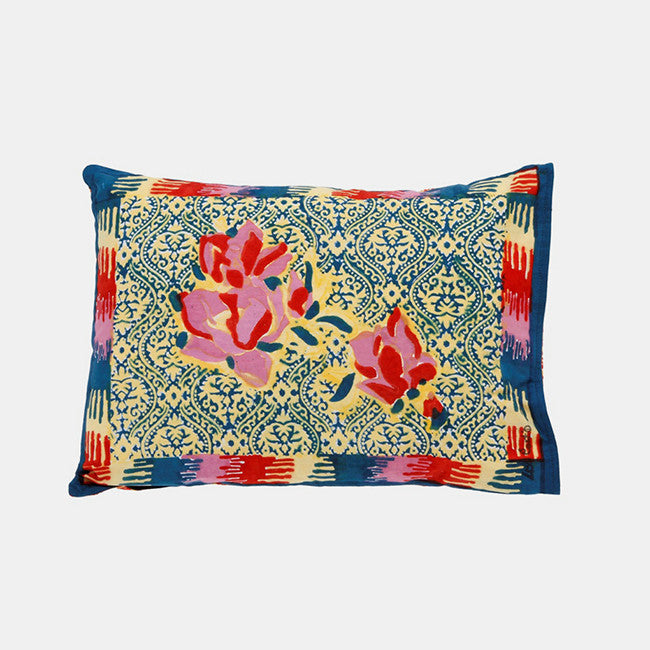 Chinese Spring Geranium Baby Pillow, Pillow, Lisa Corti, Collyer's Mansion - Collyer's Mansion