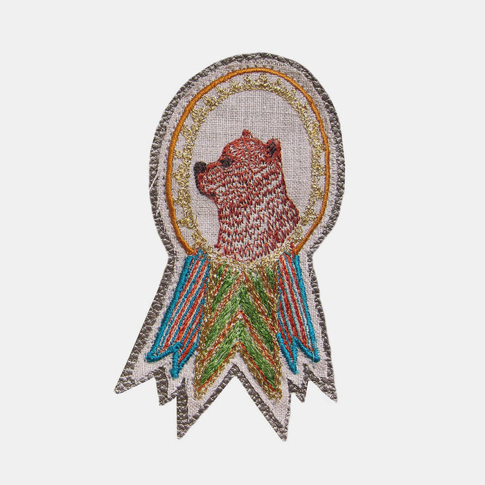Bear Badge Pin, Pin, Coral & Tusk, Collyer's Mansion - Collyer's Mansion