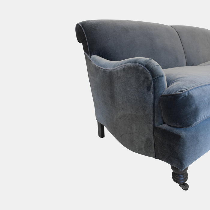"72"" Beaumont Sofa in Matteo Dark Grey"