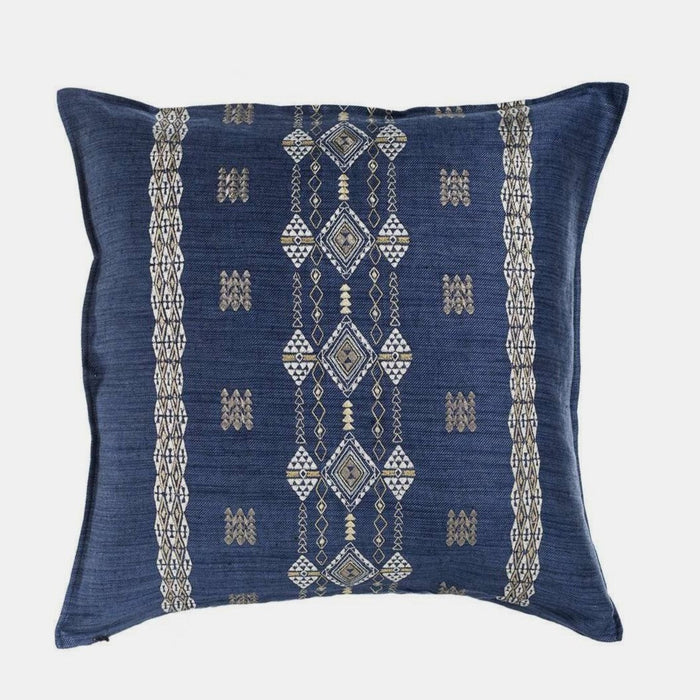 Berber Indigo Pillow, square