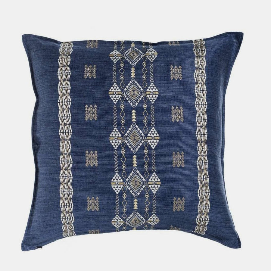 Berber Indigo Pillow, square, Pillow, Coral & Tusk, Collyer's Mansion - Collyer's Mansion