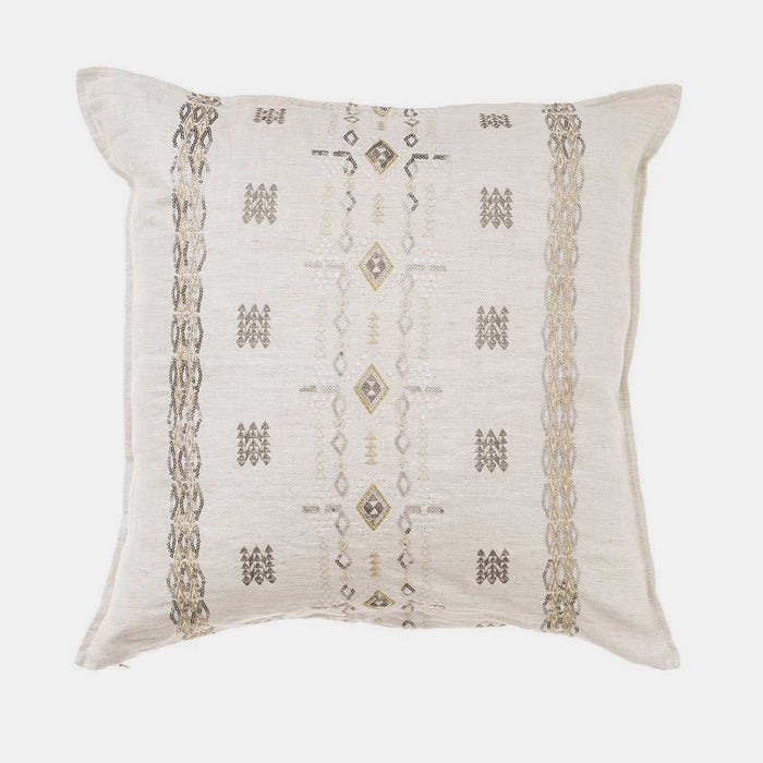 Berber Ivory and Sequin, square, Pillow, Coral & Tusk, Collyer's Mansion - Collyer's Mansion