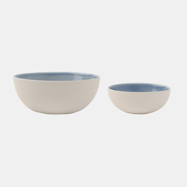 Bisque Bowl, blue