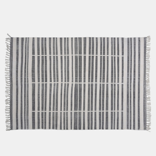 Broken Stripe Rug, 4' x 6'