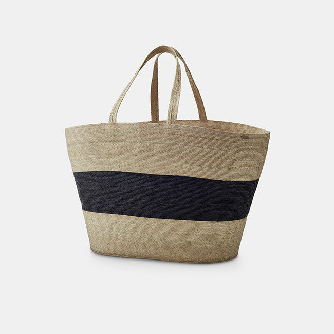 Carry Basket, black stripe