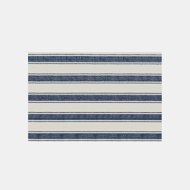 Blue Awning Stripe Rug, 2' x 3'