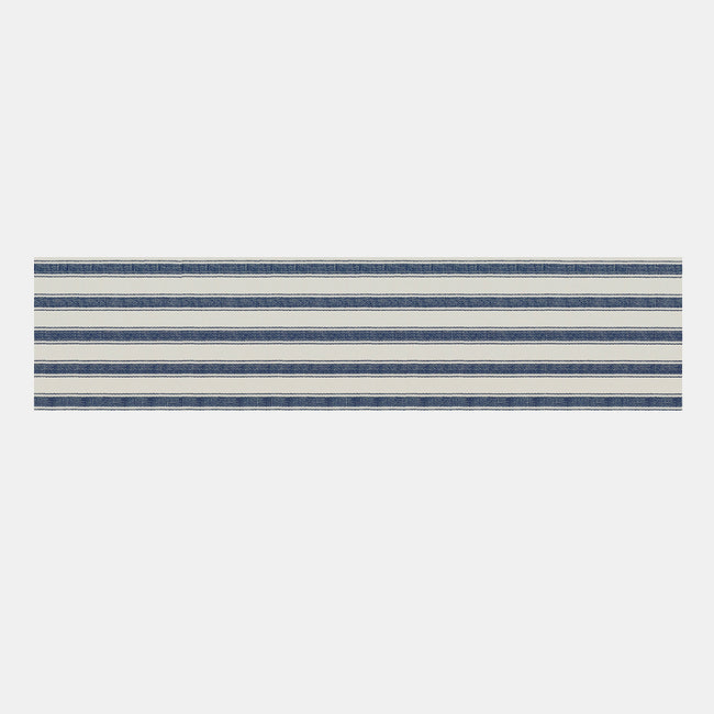Blue Awning Stripe Runner