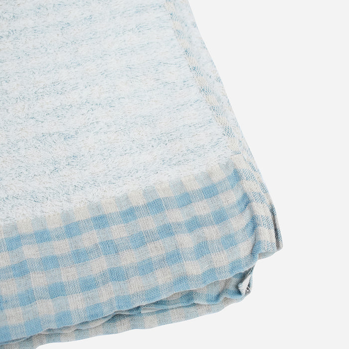 Light Blue Lino Bath Towel