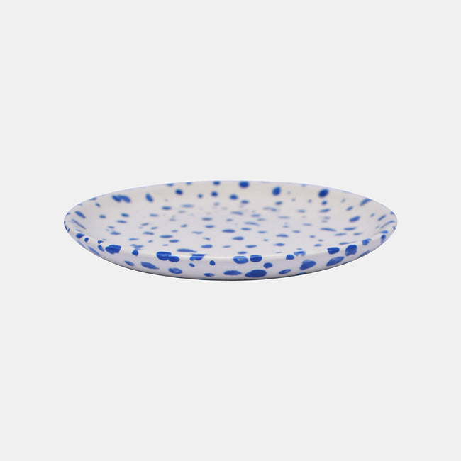 Dark Blue Speckled Dish