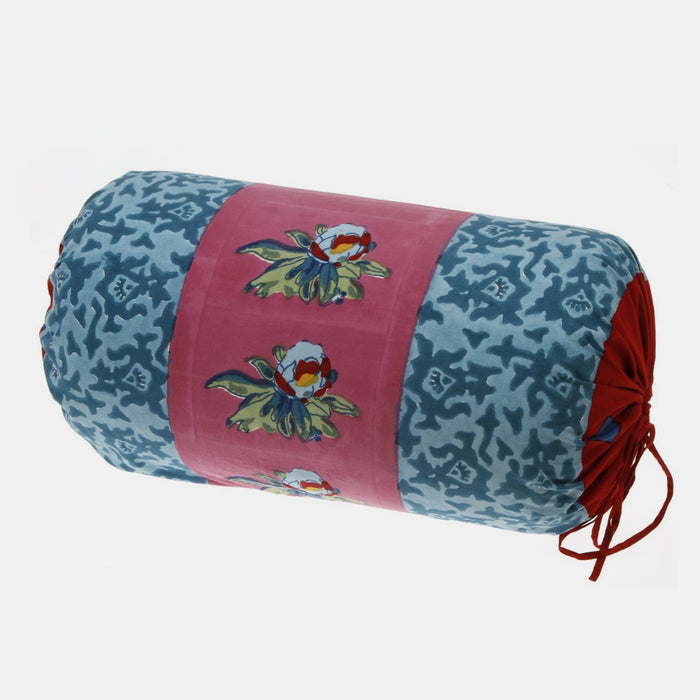 Arabesque Mauve Bolster Pillow, Pillow, Lisa Corti, Collyer's Mansion - Collyer's Mansion