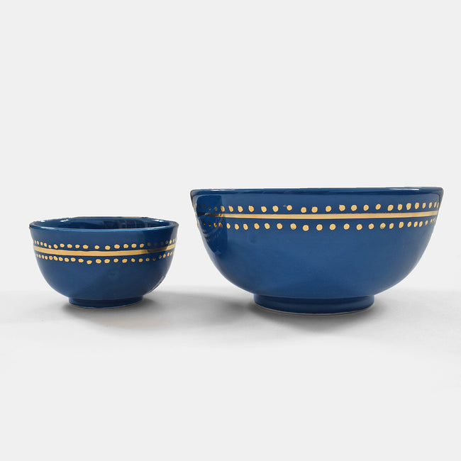 Blue Moroccan Dot Bowl