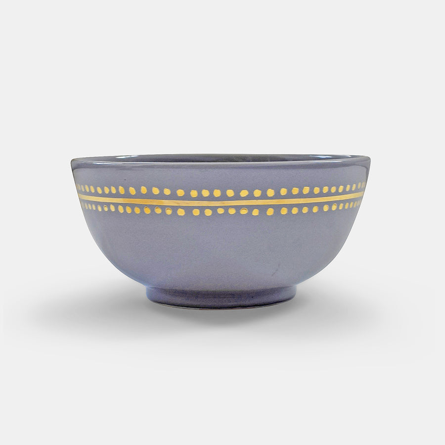 Grey Moroccan Dot Bowl