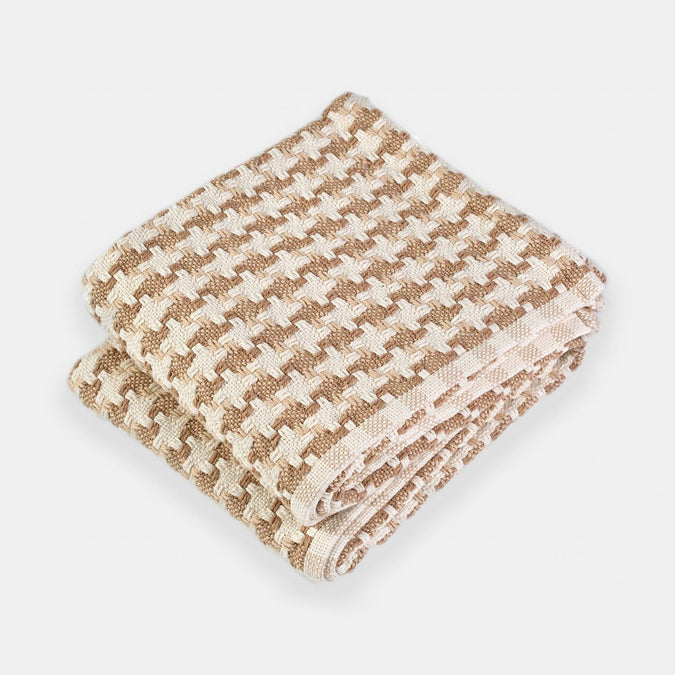 Cotton Bucksport Throw, maple