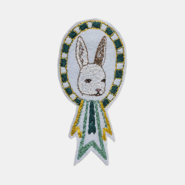 Bunny Badge Pin, Pin, Coral & Tusk, Collyer's Mansion - Collyer's Mansion