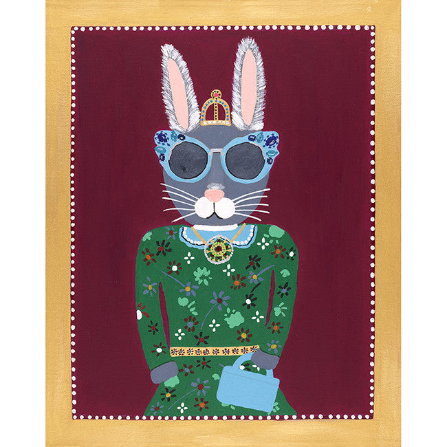 Bunny Middleton from the Royal Pet Portrait Print Series