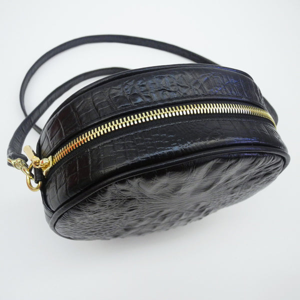 Mini Lisa Circle Bag, black