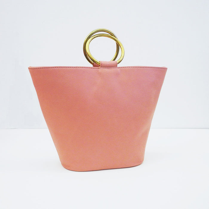 Addie Ring Bucket Tote, rose, Bag, CAB, Collyer's Mansion - Collyer's Mansion