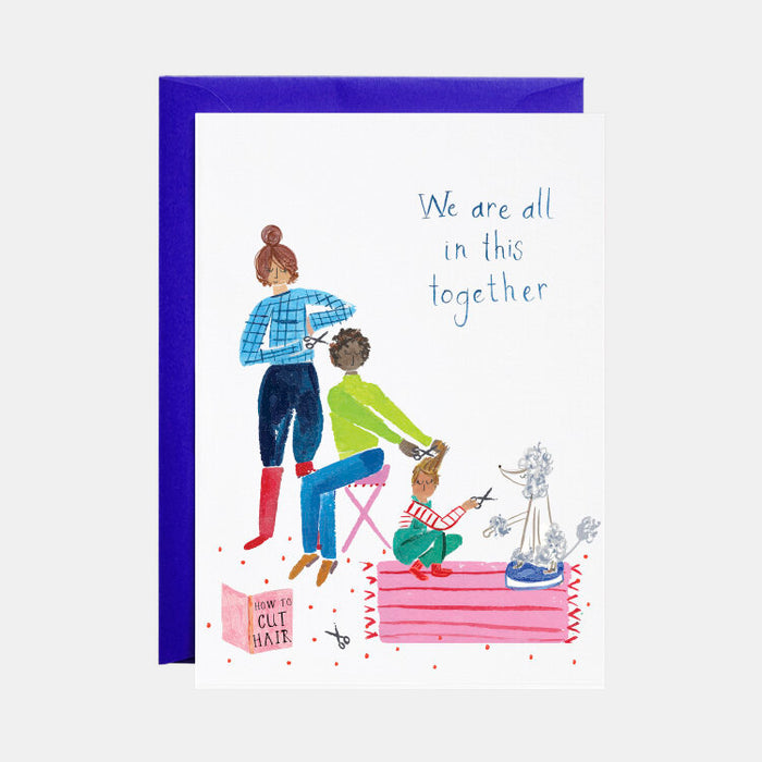 Family Haircuts Card (Support)