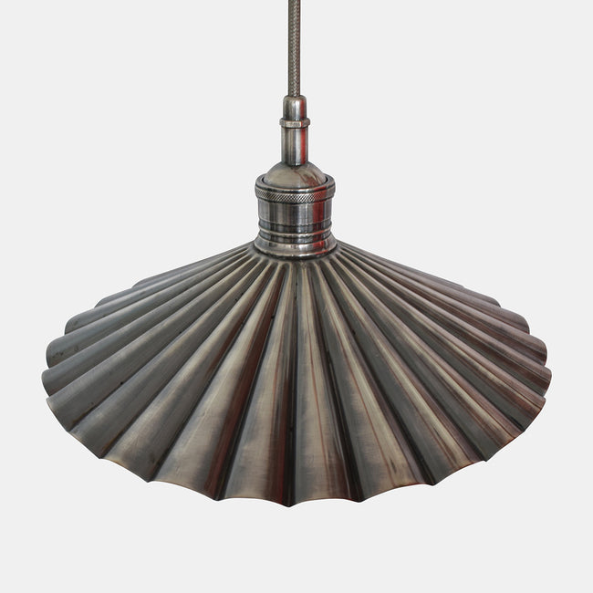 Collerette Nickel Pendant