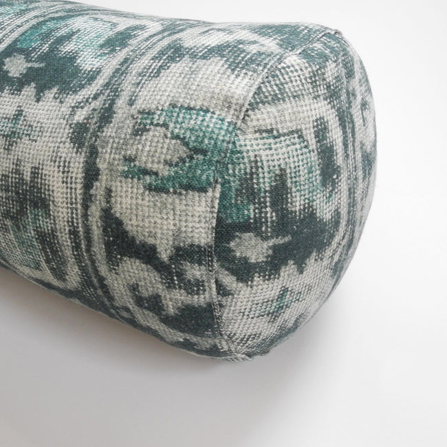 Aslan Teal Bolster Pillow, Pillow, Cisco Brothers, Collyer's Mansion - Collyer's Mansion