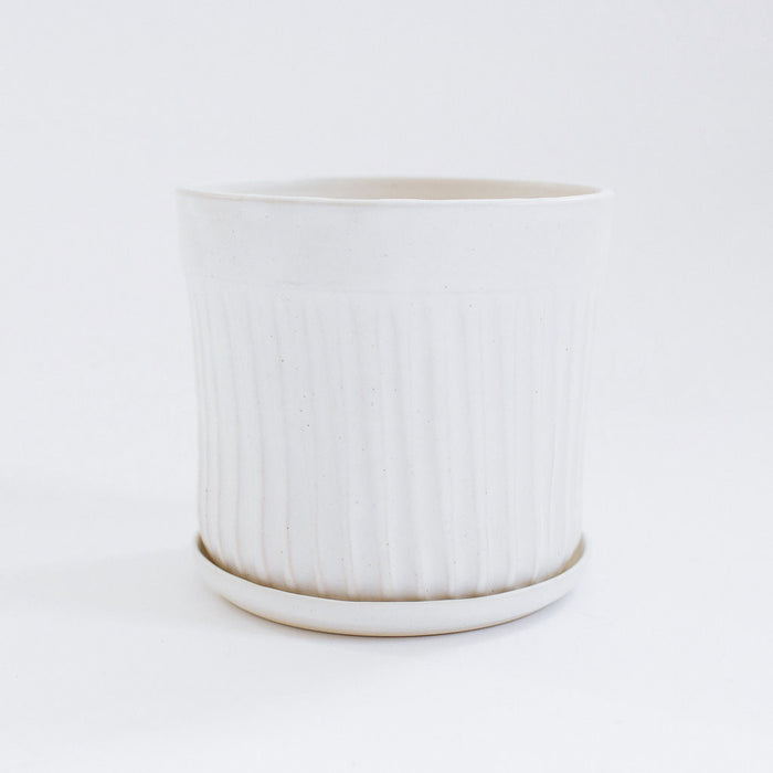 No. 3 Planter, white