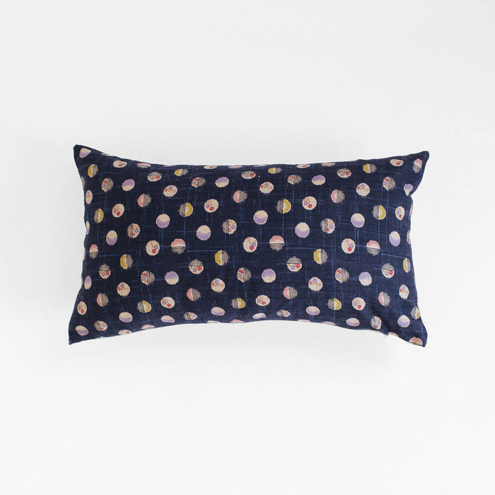 Japanese Dot Pillow, lumbar