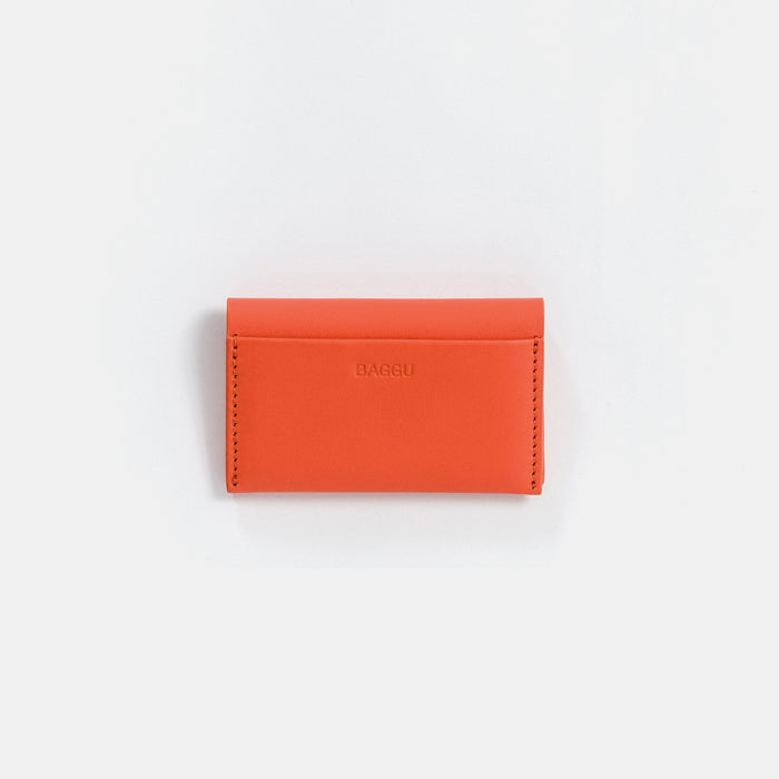 Warm Red Card Holder