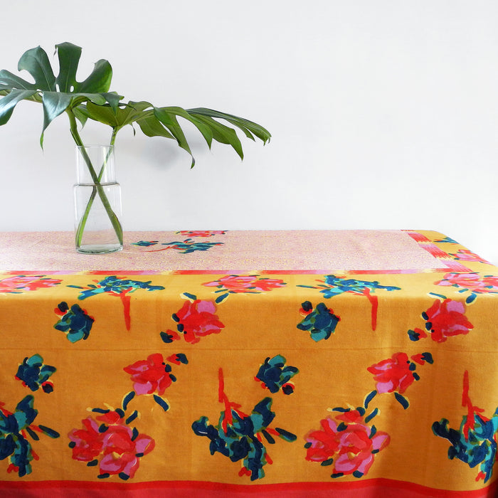 Chinese Spring Mustard Tablecloth