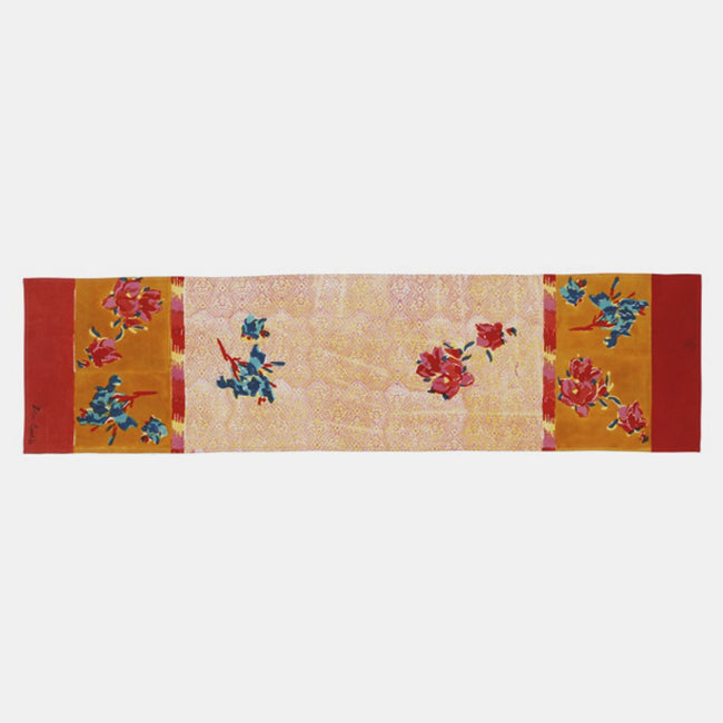 Chinese Spring Mustard Table Runner