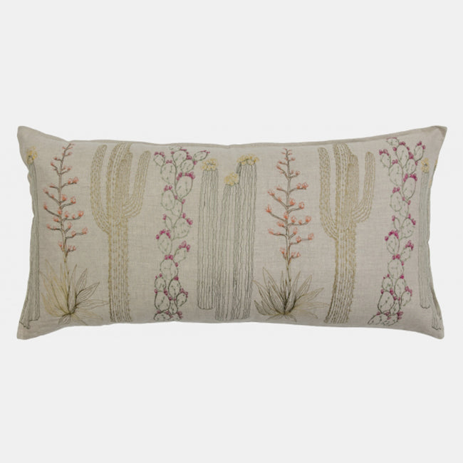 Cacti Pillow, lumbar, Pillow, Coral & Tusk, Collyer's Mansion - Collyer's Mansion