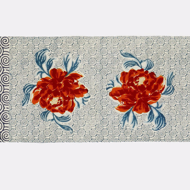 Camelia Peacock Table Runner, Tablecloth, Lisa Corti, Collyer's Mansion - Collyer's Mansion
