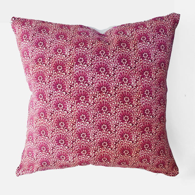 Liberty Capello Pink Pillow, square