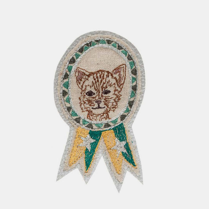 Cat Badge Pin, Pin, Coral & Tusk, Collyer's Mansion - Collyer's Mansion