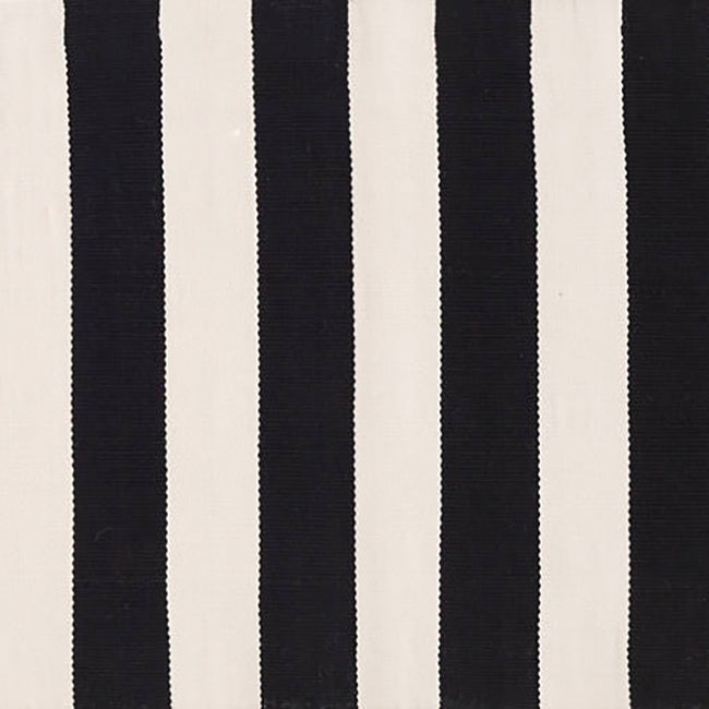 Catamaran Stripe Black Indoor/Outdoor Runner