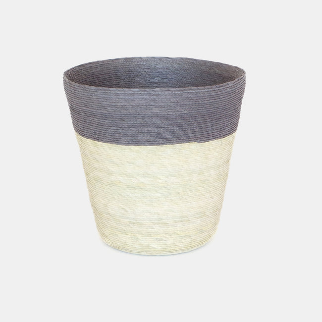 Stripe Conical Basket
