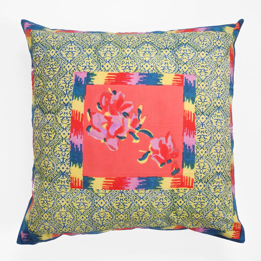 Chinese Spring Geranium Pillow, Pillow, Lisa Corti, Collyer's Mansion - Collyer's Mansion