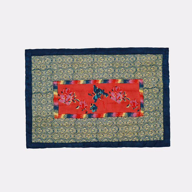 Chinese Spring Geranium Quilt, baby, Quilt, Lisa Corti, Collyer's Mansion - Collyer's Mansion