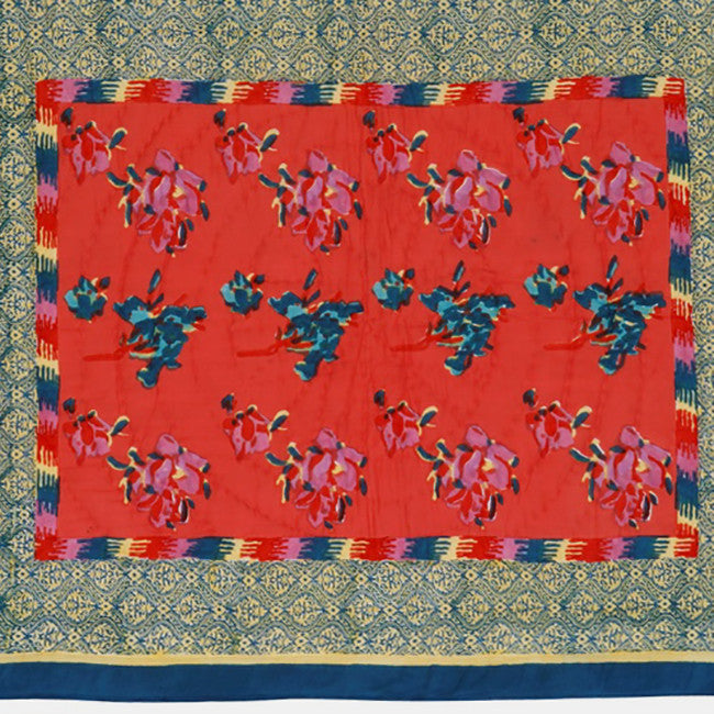 Chinese Spring Geranium Quilt, junior, Quilt, Lisa Corti, Collyer's Mansion - Collyer's Mansion