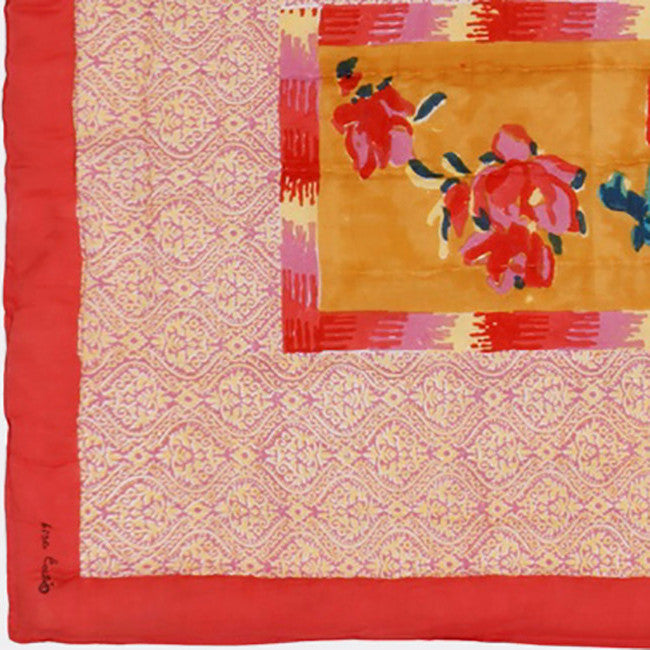 Chinese Spring Mustard Quilt, baby, Quilt, Lisa Corti, Collyer's Mansion - Collyer's Mansion