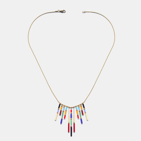 Circus Fringe Necklace