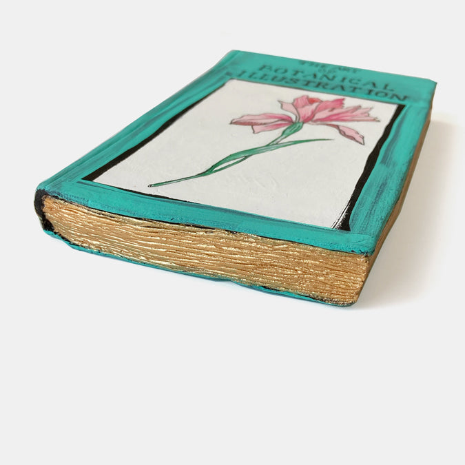 Clay Botanicals Book Wall Art