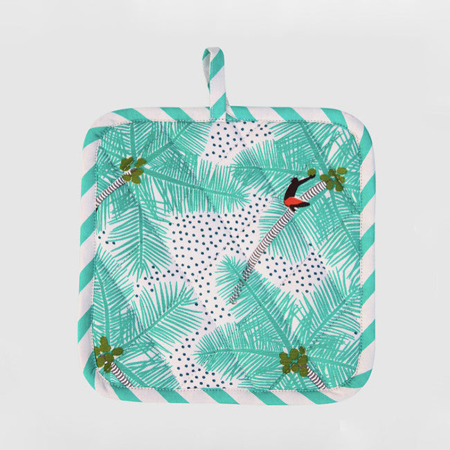 Coconut Palm Pot Holder