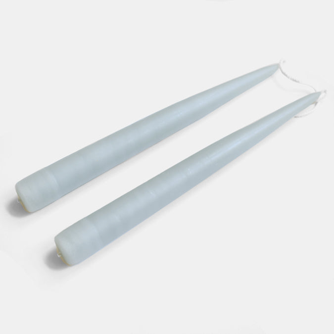 Pewter Taper Candles