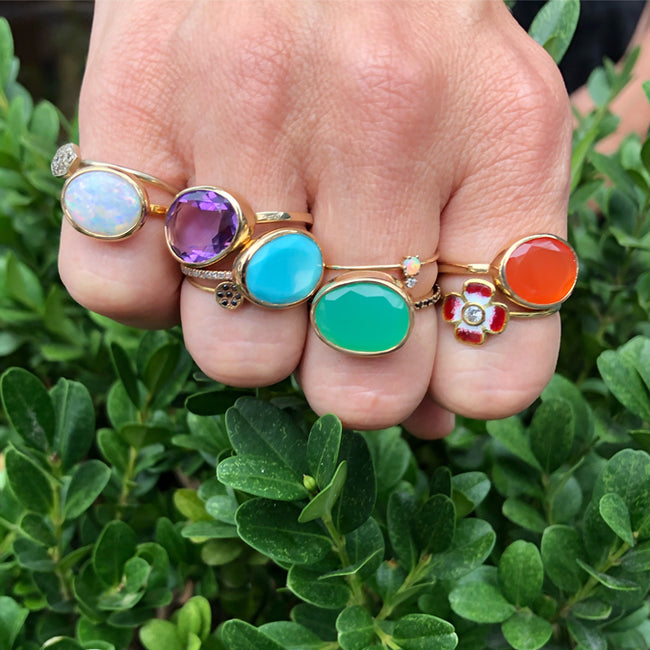 colorful fine jewelry