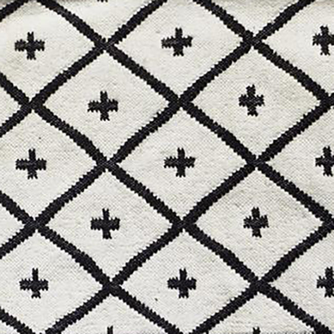 Black Conchita Rug (2 Size Options), Rug, Jamini, Collyer's Mansion - Collyer's Mansion