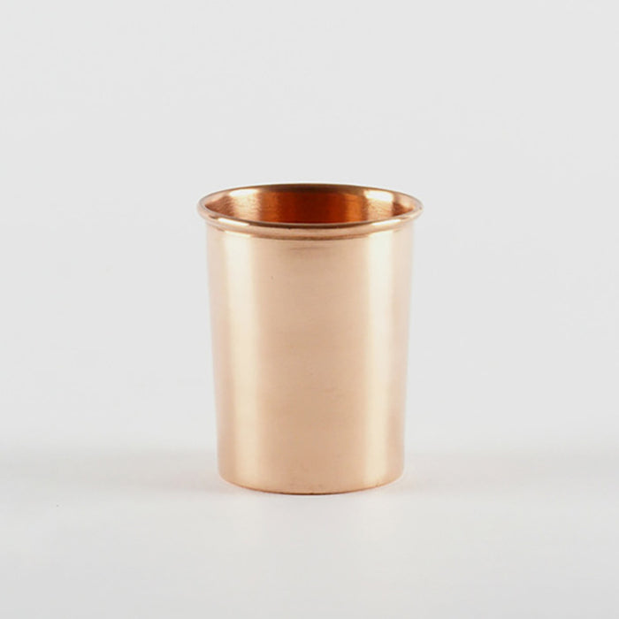 Copper Drinking Cup, Glass, Yield Design, Collyer's Mansion - Collyer's Mansion