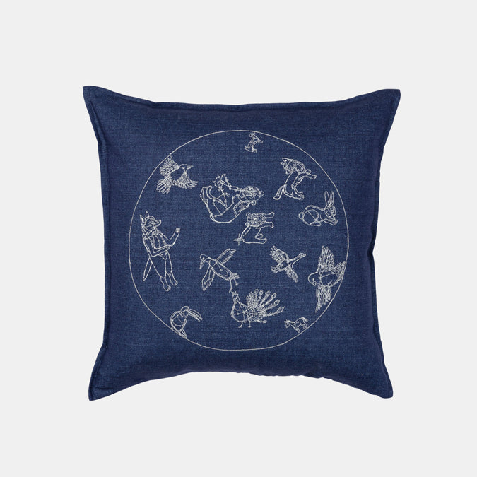 Night Sky Pillow, square
